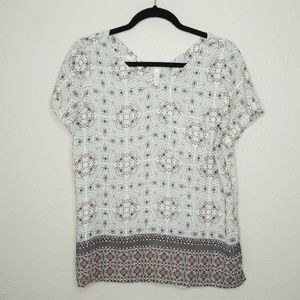 Maurices Patterned Blouse